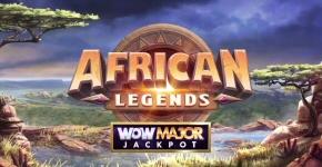 African Legends WoW Major Jackpot Slot
