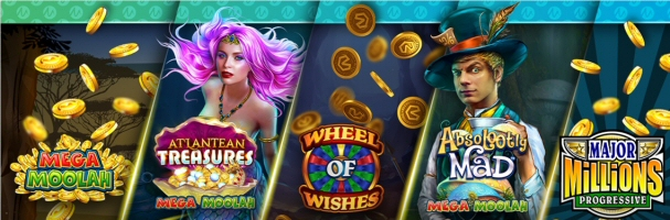 Microgaming Boasts the Addition of Five New Progressive Slots