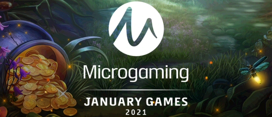Microgaming Debuts 4 New Online Slots in 2021, More to Come