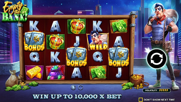 Empty The Bank Slot New from Pragmatic Play